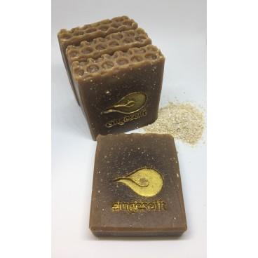 Kokos-Honig-Seife mit Haferkleie Naturseife